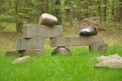 Japanische Steine Stockfotos