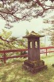 Japanische Steinlaterne Lizenzfreie Stockbilder