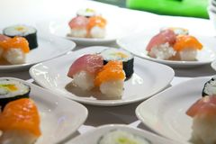 Japanische Sushi Lizenzfreies Stockfoto