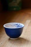 Japanische Teeschale in Nara-Restaurant Stockfotografie