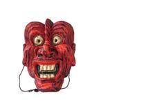 Japanische Theatermaske der traditionellen Weinlese Stockfoto
