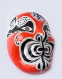 Japanische Theatermaske der traditionellen Weinlese Lizenzfreies Stockfoto