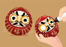 Japanische Trommel Lizenzfreie Stockbilder