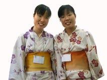 Japanische Zwillinge stockfoto