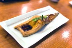 Japanischer Aal gebraten mit Sojasoßen Lizenzfreie Stockfotografie