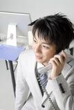 Japanischer Büroangestellter Lizenzfreie Stockfotos