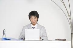 Japanischer Büroangestellter Stockfotografie