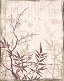 Japanischer Blumenhintergrund Lizenzfreie Stockfotografie