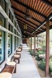 Japanischer Boden in Nekoemon-Café Chiang Mai Thailand stockfotografie