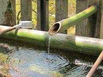 Japanischer Brunnen Stockbild