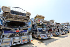 Japanischer Dekorationsfracht-LKW Lizenzfreies Stockfoto