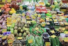 Japanischer Frischgemüse Omicho-Markt Kanazawa Japan Lizenzfreie Stockfotografie