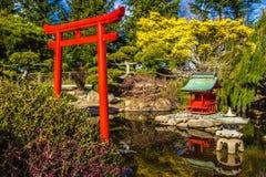 Japanischer Garten Lizenzfreie Stockfotos