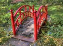 Japanischer Garten im Herbst Lizenzfreies Stockfoto