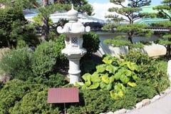 Japanischer Garten in Monaco Stockbilder