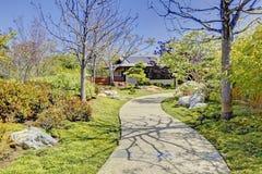 Japanischer Garten in San Diego stockfotografie