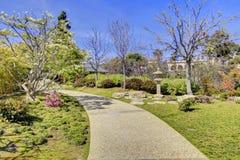 Japanischer Garten in San Diego lizenzfreie stockfotografie