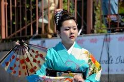 Japanischer Gebläsetänzer Lizenzfreie Stockfotos