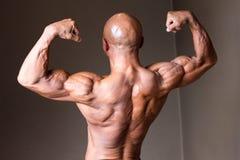 Japanischer heißer sexy sperriger Kahlkopf männliches bodybuider 50s stockfoto
