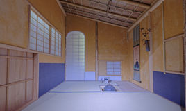 Japanischer Innenraum Stockfoto