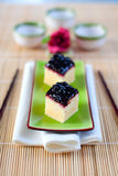 Japanischer Käsekuchen Lizenzfreies Stockbild