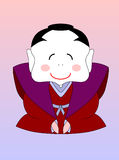 japanischer Karikatursamurai Lizenzfreie Stockfotografie