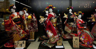 Japanischer Kimono Stockfotografie