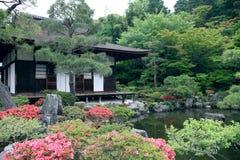 Japanischer Landschaftsgarten Stockfotografie