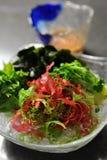 Japanischer Meerespflanzesalat Lizenzfreies Stockfoto