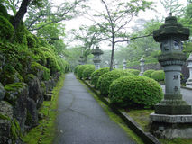 Japanischer Park in Tokyo Lizenzfreies Stockbild