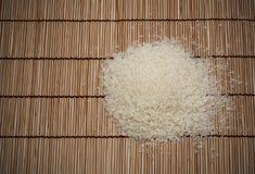 Japanischer Reis und japanische Matten stockfotos