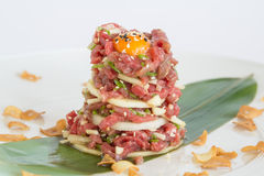 Japanischer Salat Stockbild