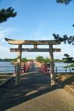 Japanischer Schrein Lizenzfreies Stockfoto