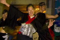 Japanischer Tänzerfestival-Kimono Lizenzfreie Stockfotos
