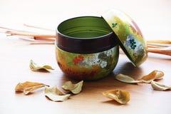 Japanischer Tee Lizenzfreie Stockfotos