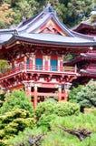 Japanischer Tee-Garten Stockbilder