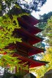 Japanischer Tee-Garten Stockfotos