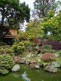 Japanischer Tee-Garten Lizenzfreies Stockfoto