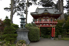 Japanischer Tee-Garten Stockbild