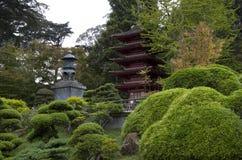 Japanischer Tee-Garten Stockfotografie