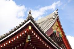 Japanischer Tempel in ASA-KUSA, Tokyo, Japan Lizenzfreie Stockbilder