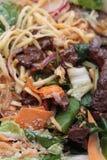 Japanischer teriyaki Salat Stockbild