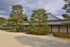 Japanischer trockener Landschaftsgarten Lizenzfreies Stockbild