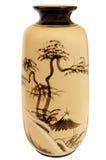 Japanischer Vase Lizenzfreies Stockbild