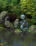 Japanischer Wasser-Spiritus Stockfoto