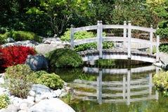 Japanischer Wassergarten Stockfotografie