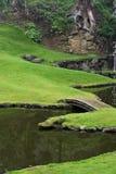 Japanischer Zen-Garten Stockfoto