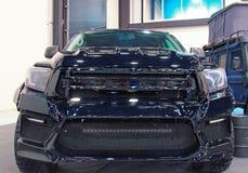 Japanisches Auto nicht für den Straßenverkehr auf königlicher Automobilausstellung Vorderansicht der Nahaufnahme Lizenzfreie Stockfotografie