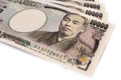 Japanisches Bankgeld Lizenzfreie Stockfotografie