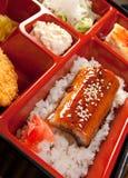 Japanisches Bento Mittagessen Stockbilder